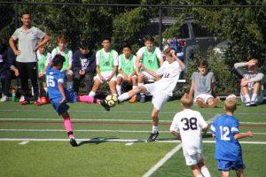 JV Boys Soccer vs. Summit Country Day 9.29.18