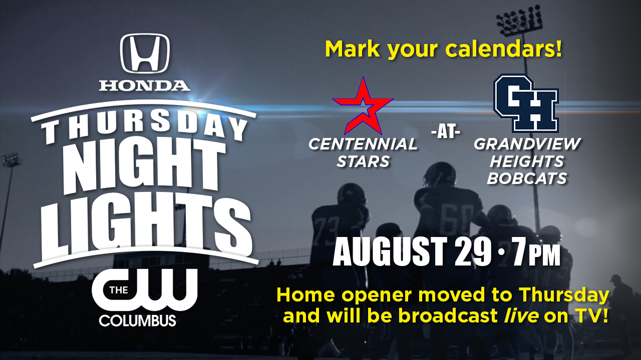 Thursday Night Lights Coming to Grandview Football!