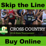 Cross Country Tickets for State Meet
