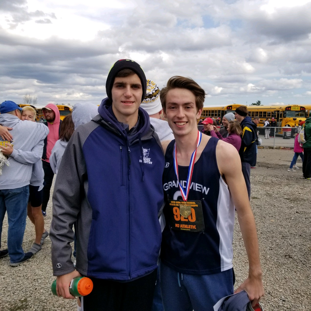 Derek Amicon Wins the XC State Championship (Video Link Inside)