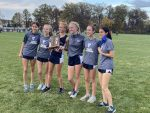 Girls Varsity Cross Country finishes 2nd place at District Meet