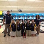Copley Senior High School Girls Varsity Bowling finishes 2nd place