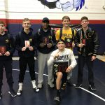 Copley Senior High School Boys Varsity Wrestling finishes 9th place