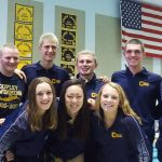 Copley Senior High School Boys Varsity Swimming falls to Green High School 116-54