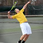 Copley Senior High School Boys Varsity Tennis beat Lake High School 4-1
