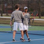 Copley Senior High School Boys Varsity Tennis beat Westlake High School 3-2
