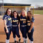 Copley Senior High School Varsity Softball beat Barberton High School 13-3