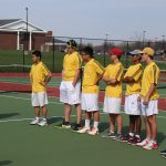 Copley Senior High School Boys Varsity Tennis beat Tallmadge High School 5-0