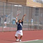 Copley Senior High School Boys Varsity Tennis beat Louisville High School 4-1