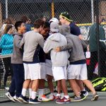 Copley Senior High School Boys Varsity Tennis beat Revere High School 4-1