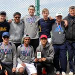 Copley Senior High School Boys Varsity Tennis finishes 2nd place