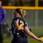 Copley Senior High School Varsity Softball beat Roosevelt 14-0
