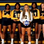 Copley Senior High School Girls Varsity Volleyball beat Revere High School 3-1