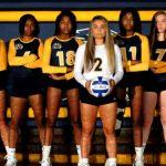 Copley Senior High School Girls Varsity Volleyball beat Revere High School 3-1
