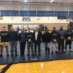 Boys Varsity Wrestling falls to Revere 39 – 33