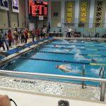 Boys Varsity Swimming beats Revere 97 – 73