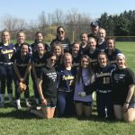 Girls Varsity Softball falls to St. Vincent-St. Mary 8 – 5
