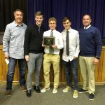 Boys Soccer Receives GASOA Sportsmanship Award