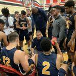 Boys Varsity Basketball beats Roosevelt 67 – 43