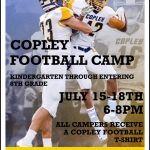 Copley Youth Football Camp