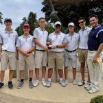 Boys Varsity Golf finishes in 1st place at McClaren Invitational
