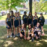 Girls Middle School Cross Country finishes 12th place at Billy Goat Challenge