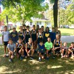 Boys Middle School Cross Country finishes 3rd place at Billy Goat Challenge