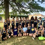 Girls Middle School Cross Country finishes 14th place at Todd Clark Invitational