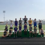 Boys Middle School Cross Country finishes 10th place at Todd Clark Invitational