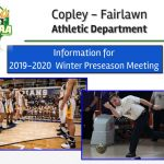 Winter Sports Pre-Season Meeting