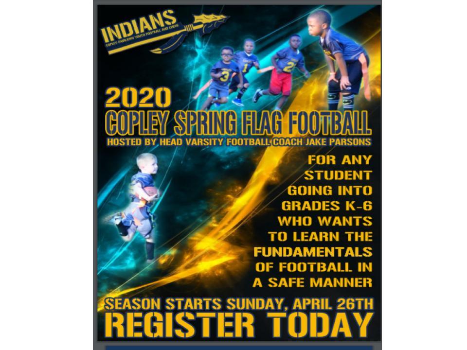 Spring Flag Football
