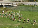 Girls Middle School Cross Country falls to Highland 36 – 24