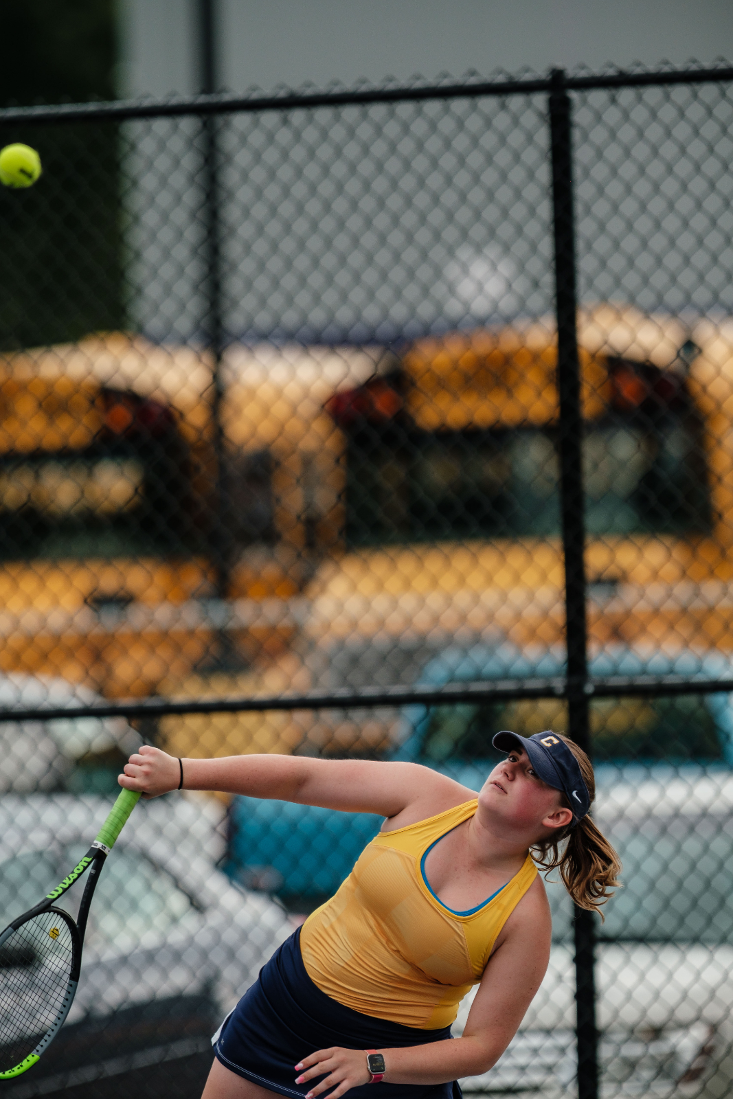 Girls Tennis Action Shots 2020