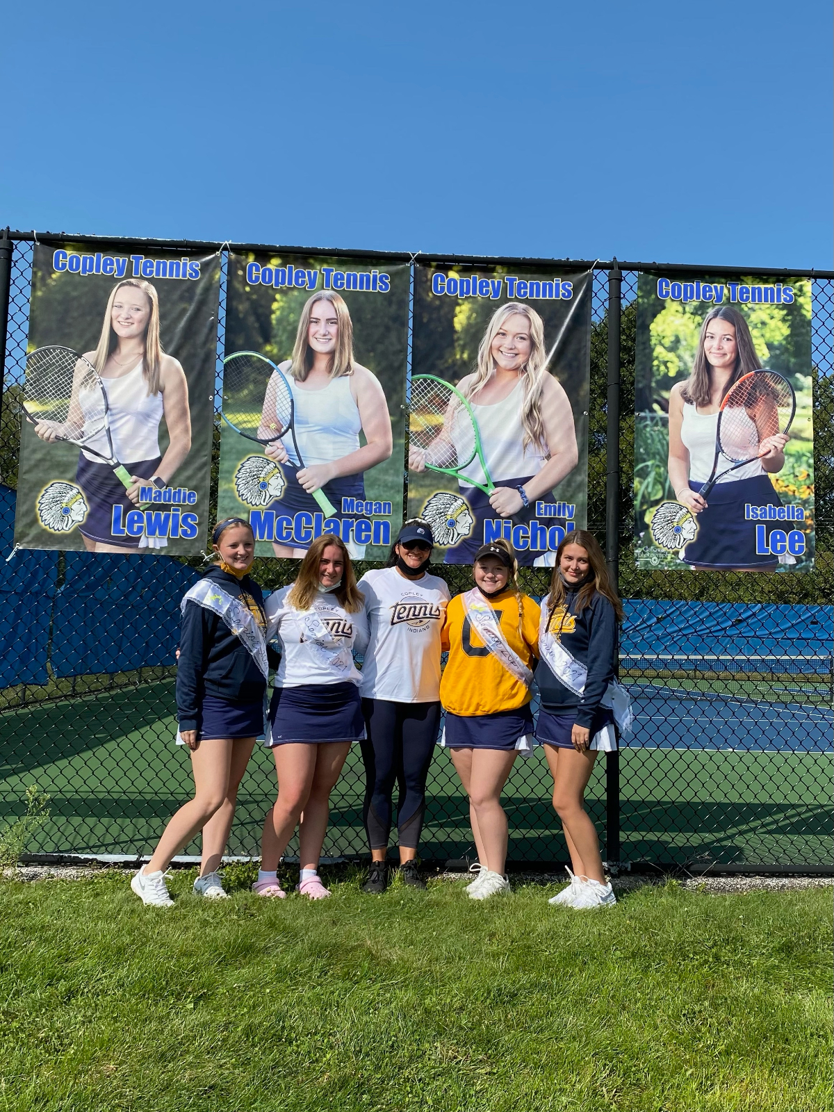 Girls Tennis Senior Day – 2020