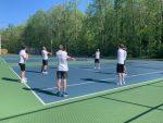 Shorthanded Boys Tennis Falls to Albemarle 9 – 0