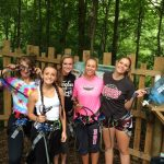 Warrior Volleyball Players Go Ape!