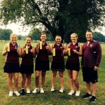 """Lady Warrior Golf Team """"Putts"""" on Good Showing At County"""