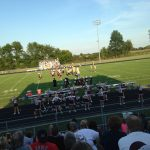 Middle School Football Teams Play First Game