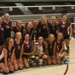 Warrior Volleyball Team Wins 5th Annual Kay Saunders Classic
