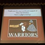 Middle School Athletes Honored