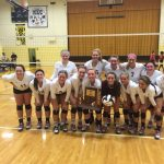Warrior Volleyball Team Claims Sectional Title