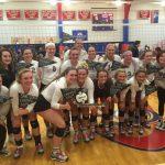 Warrior Volleyball Team is State Bound