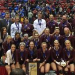 Warrior Volleyball Team Brings State Championship Back to Wes-Del
