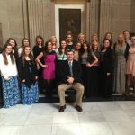Volleyball Team Honored at State House