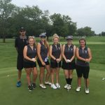 Lady Warrior Golf Team Sectional Action