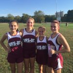 Middle school cross country teams wrap up season at County