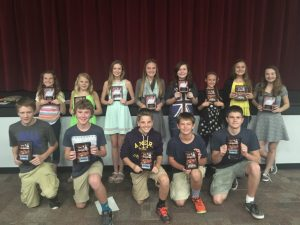 Middle School Fall Awards