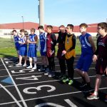 Wes-Del High School Boys Varsity Track finishes 3rd place