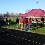 Wes-Del High School Girls Varsity Track finishes 2nd place