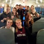 Wes-Del High School Girls Varsity Track finishes 5th place